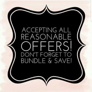 💕Accepting all REASONABLE offers 💕